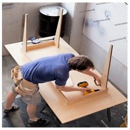 Сборка столов по низким ценам в Смоленске от специалистов