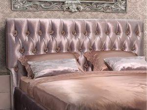 Перетяжка изголовья кровати в Химках